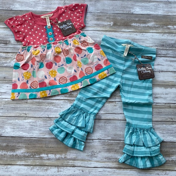 NWT Matilda Jane Sweet To The Core/Oh Baby Set